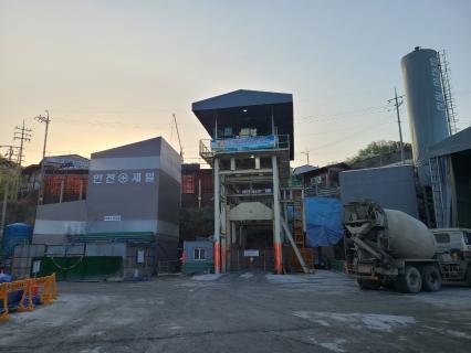 진접선(4호선연장) 차량기지 1공구(인입선) 건설공사 2021년04월18일 단선터널