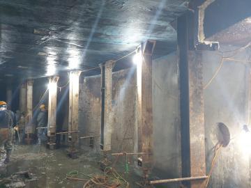 반포천 유역 분리터널 건설공사 가시설공