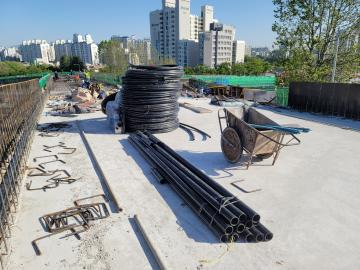 월드컵대교~서부간선 직결램프 설치공사(장기1차) 가시설/하부/상부/기타(RAMP-A)