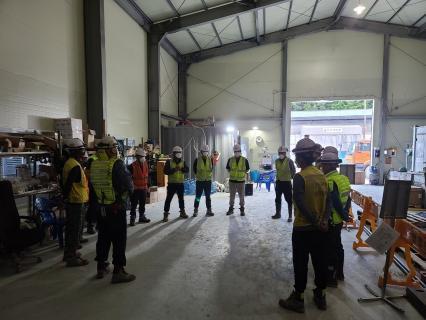 진접선(4호선연장) 차량기지 1공구(인입선) 건설공사 2021년09월05일 단선터널