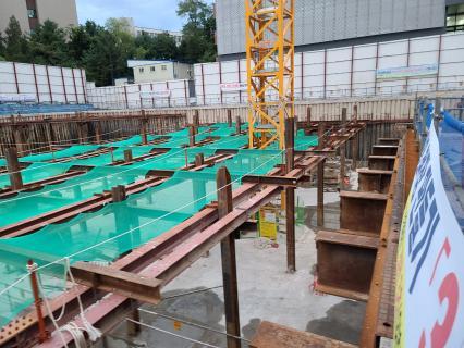 서울바이오허브 글로벌협력동 건립공사 철근콘크리트공사