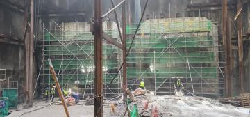 별내선(8호선연장) 1,2공구 건설공사(소방공사) 2021년09월17일 터널2공구 토목구조물 시공중
